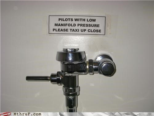 Pilot Bathroom Humor