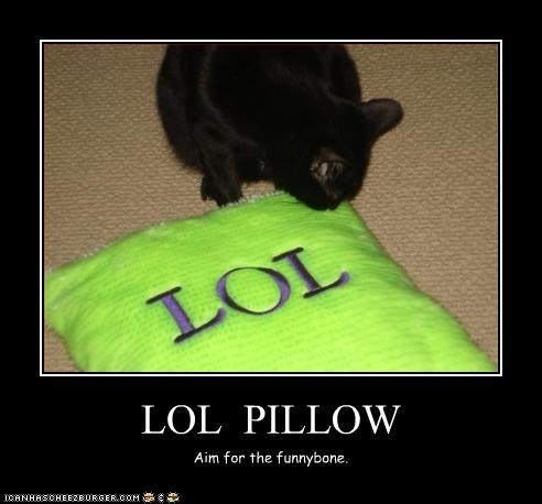 LOL  PILLOW