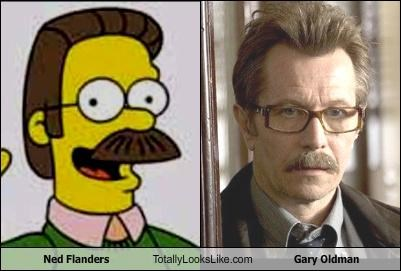 Ned Flanders Totally Looks Like Gary Oldman