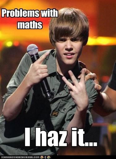 Problem with maths...