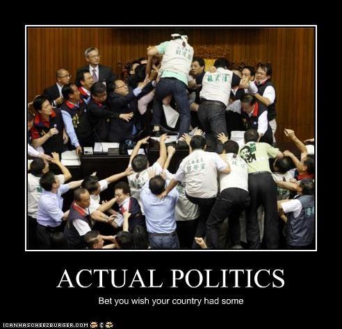 ACTUAL POLITICS