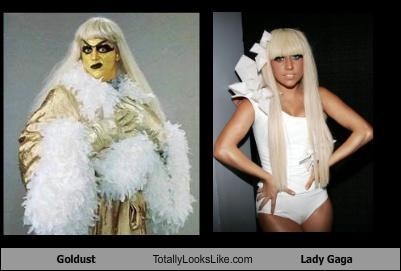 goldust,lady gaga,wrestler,wwe