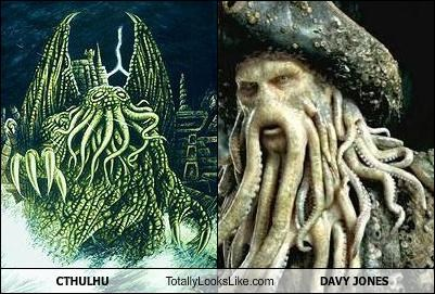 CTHULHU Totally Looks Like DAVY JONES