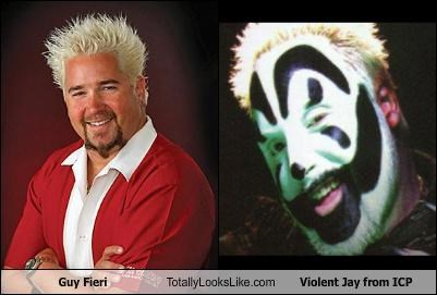 Guy Fieri Totally Looks Like Violent Jay from ICP