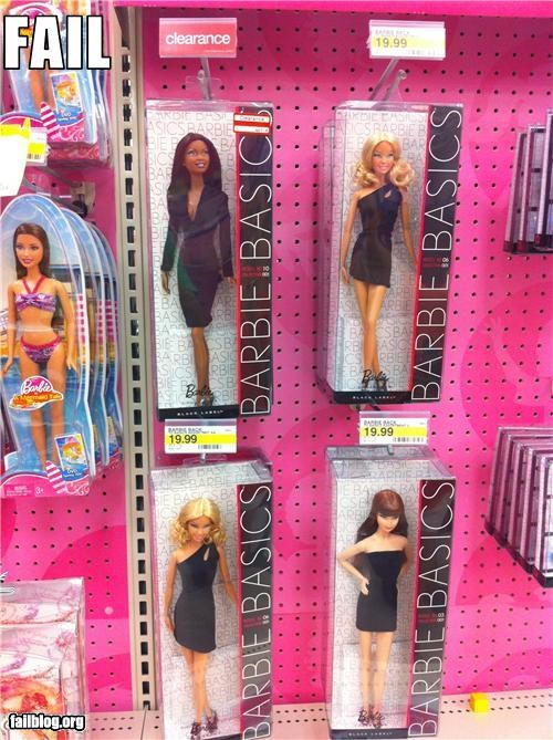 Barbie Fail