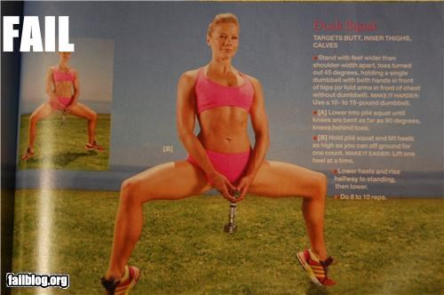 Fitness Position Fail