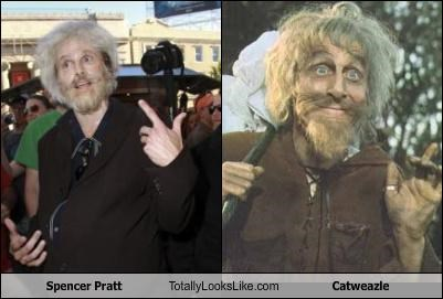 Spencer Pratt Totally Looks Like Catweazle