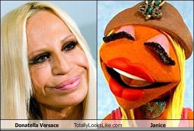 Donatella Versace Totally Looks Like Janice