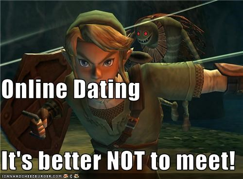 Online Dating It's better NOT to meet!