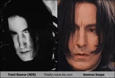 Trent Reznor (NIN) Totally Looks Like Severus Snape