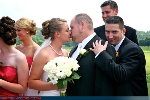 bride,brotherly love,creepy,creepy groomsman,creepy wedding picture,eww,Funny Wedding Photo,funny wedding picture,groom,groomsman,hidden love,surprise,were-in-love,wedding party,wtf