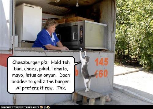 cheezburger,fud,nom nom nom,restaurant,want