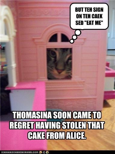 THOMASINA SOON CAME TO REGRET