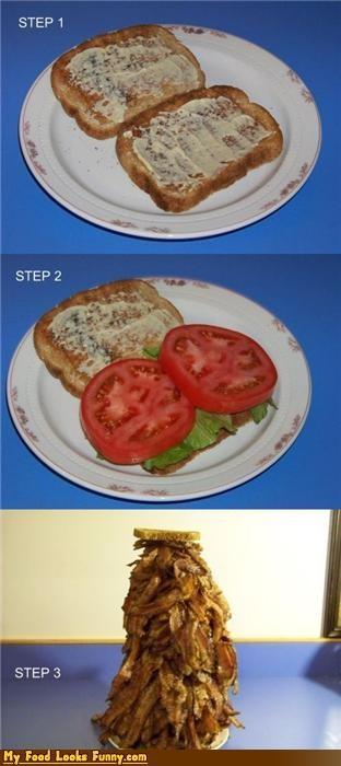 bacon,bacon lettuce tomato,blt,blt sandwich,burgers and sandwiches,How To,lettuce,sandwich,tomato