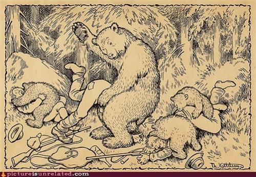 Bears Like It Rough