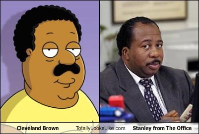 Cleveland Brown Totally Looks Like Stanley from The Office
