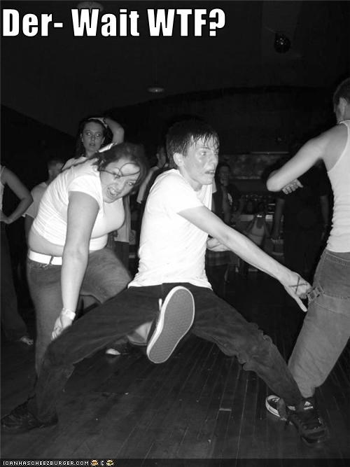Derpin on tha dancefloor