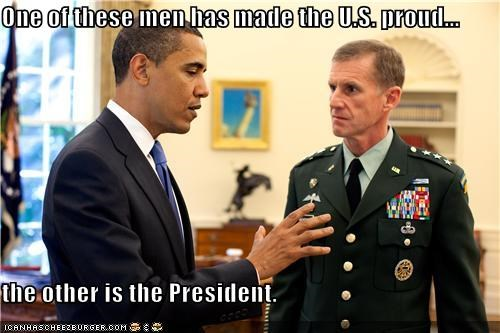 One of these men has made the U.S. proud...  the other is the President.