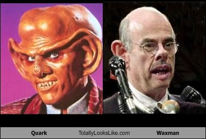 Quark Totally Looks Like Waxman