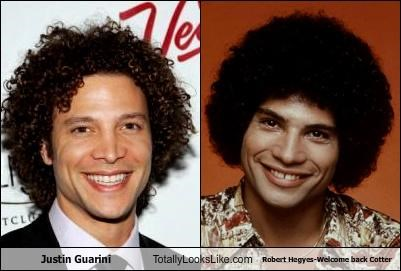 Justin Guarini  Totally Looks Like Robert Hegyes-Welcome back Cotter