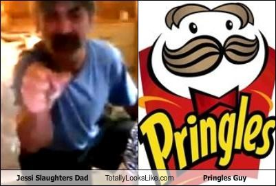 Jessi Slaughters Dad Totally Looks Like Pringles Guy