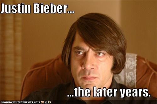 Justin Bieber...  ...the later years.