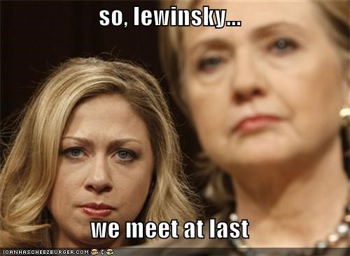 so, lewinsky...  we meet at last