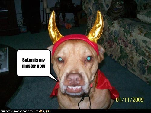 Satan is my master now
