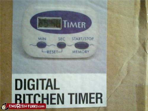Bitchen Timer