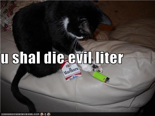 u shal die evil liter