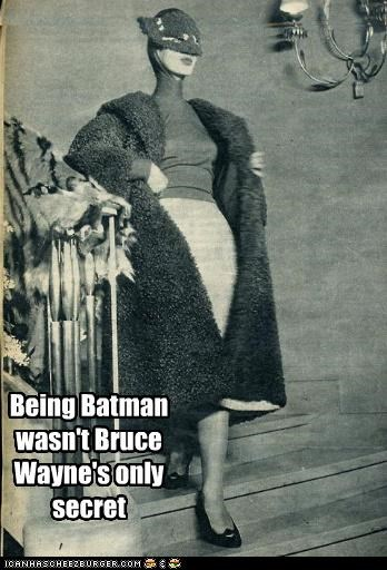 Being Batman wasn't Bruce Wayne's only secret