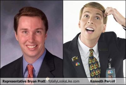 Representative Bryan Pratt Totally Looks Like Kenneth Parcell