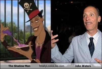 The Shadow Man Totally Looks Like John Waters
