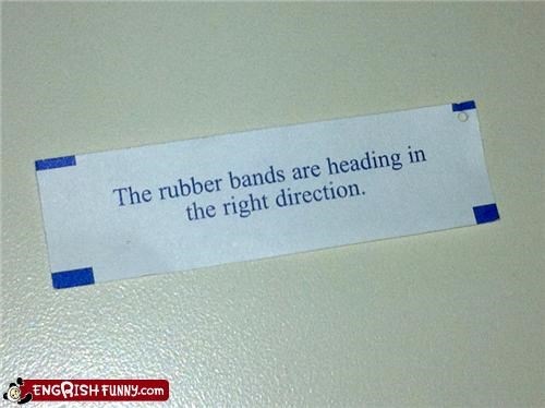 Fortune Cookie Friday - Right At My Face! OW!