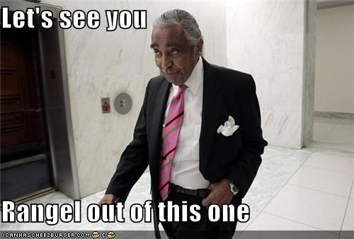 Let's see you  Rangel out of this one