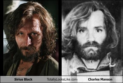 Sirius Black Totally Looks Like Charles Manson