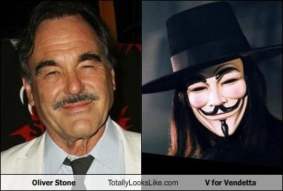 Oliver Stone Totally Looks Like V for Vendetta