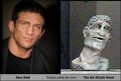 Alex Reid Totally Looks Like The Art Attack Head