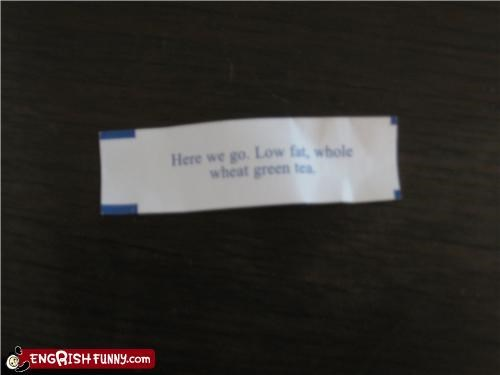 Fortune cookie Friday - Here We Go...