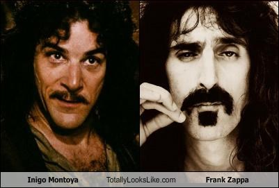 Inigo Montoya Totally Looks Like Frank Zappa