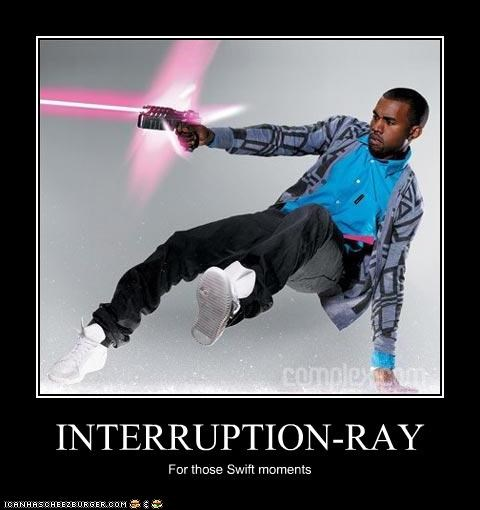 INTERRUPTION-RAY
