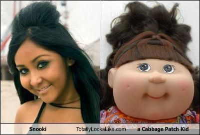 Snooki Totally Looks Like a Cabbage Patch Kid