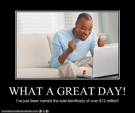 WHAT A GREAT DAY!