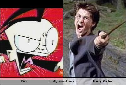 Dib Totally Looks Like Harry Potter