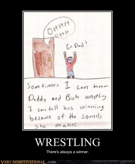 daddy,Hall of Fame,hilarious,im-12-years-old-what-is-this,kids drawings,sex,sounds,wrestling