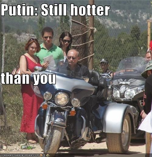 Putin: Still hotter than you