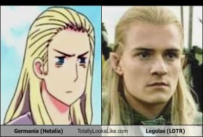 Germania (Hetalia) Totally Looks Like Legolas (LOTR)