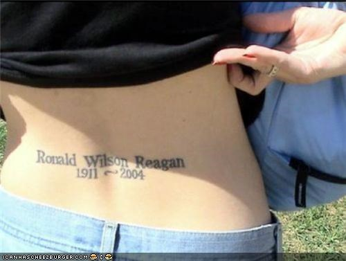 Political Tramp Stamps: Hot Or Not?