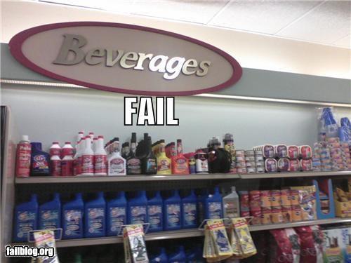 Oily Drink FAIL