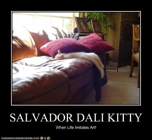 SALVADOR DALI KITTY